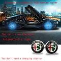 4 шт. 60 мм Центральная втулка колеса автомобиля  крышка ступицы  Магнитная крышка ступицы для Alfa Romeo Giulietta Spider  все модели