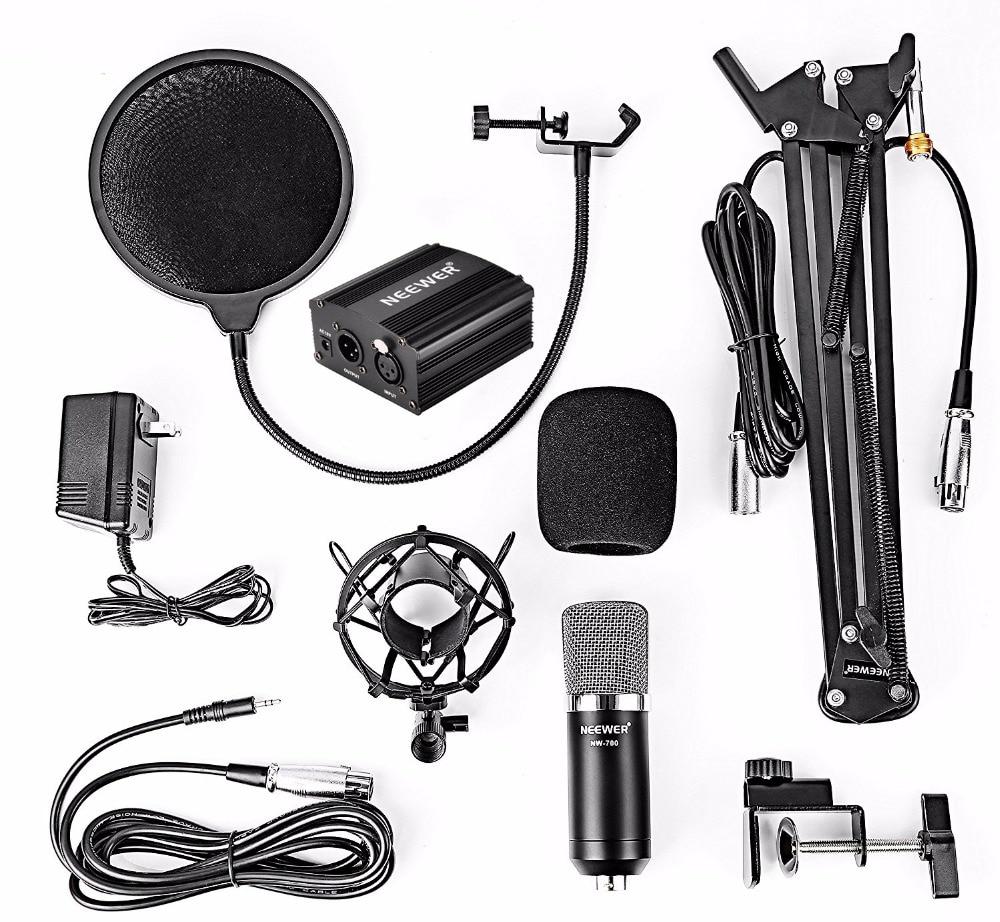 NeWer NW-700 микротелефоны және NW-35 тірек - Портативті аудио және бейне - фото 6