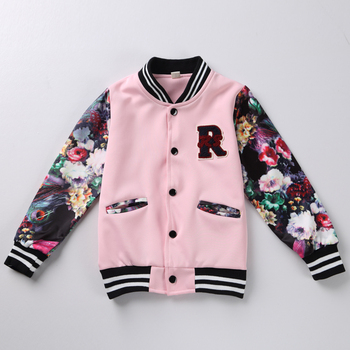 Kids Jacket for Girls Fashion Baseball Coat for Girl Boy Baby Girl Winter Clothes Autumn Children's Jackets Outwear reima jackets 8689577 for girls polyester winter fur clothes girl