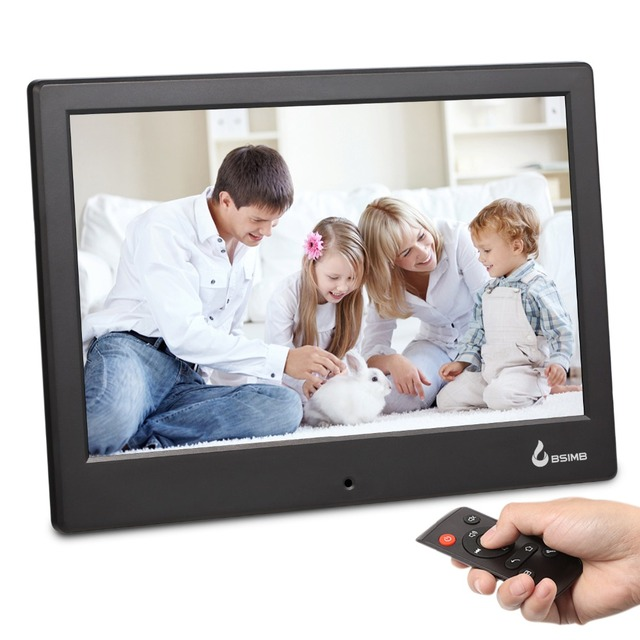 Photo Picture Frame 8 Inch P2p Wifi Photomusicmoviecalendarclock