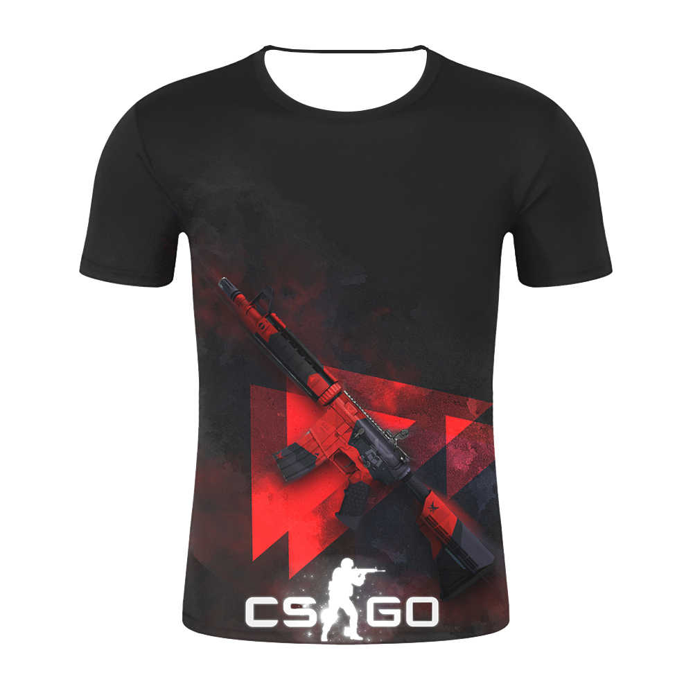 2019 Мужская футболка с надписью «счетчик Strike Global offension CS GO Gamer», футболка CSGO 3D, Мужская футболка наивысшего качества, брендовая одежда забавная футболка