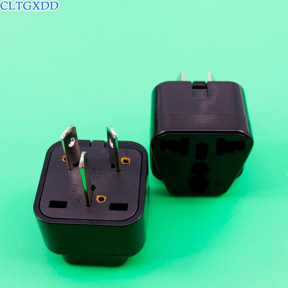 Cltgxdd Australia Nueva Zelanda enchufe de conversión de viaje adaptador de enchufe de hogar adaptador de corriente US/UK/EU a AU enchufe de viaje Cable de alimentación de referencia dorada de CARDAS OFC, Cable de alimentación EU Schuko AC, Figura 8 Oyaide P-079E/P-079/C-079, conector MK Vinshle