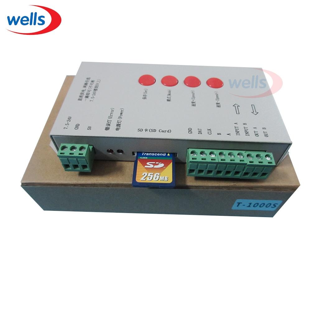 Origina DC5 ~ 24V T-1000S SD kartica kontroler za LPD6803 WS2811 - Različiti rasvjetni pribor - Foto 3