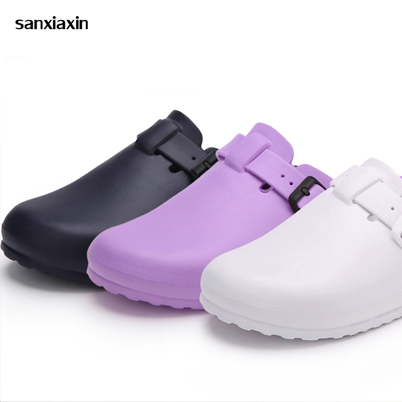 Men Women Chef Shoes Breathable Non-Slip Kitchen Working Shoes Summer Hospital Doctor Nurse Shoes Medical Shoes Casual Footwear
