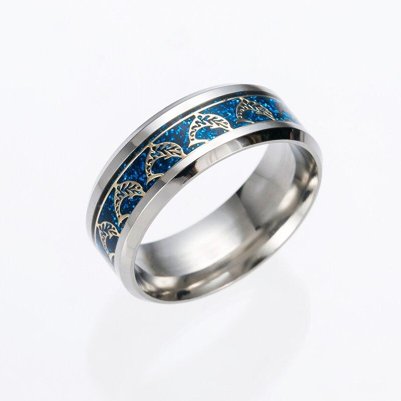 mens titanium duck wedding ring mens