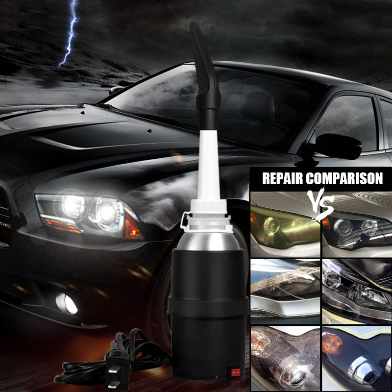 New Car Headlight Refurbished Electrolytic Atomized Cup Headlamp Repair Tool 200ML Car Heating Cup High power Heating Faster in Car Headlight Bulbs LED from Automobiles Motorcycles