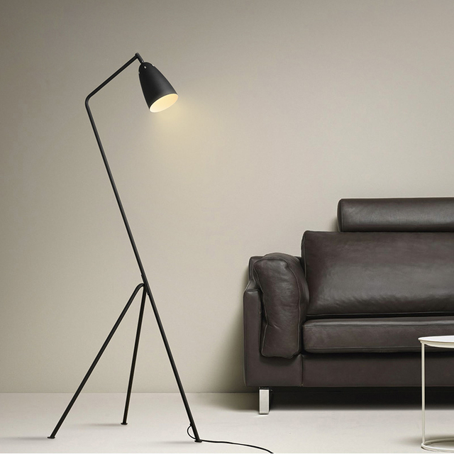 Beautiful AC85 265V Modern Floor Lamp E27 Floor Lighting For Living Room Sofa Side  Light Study