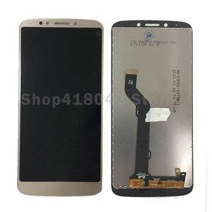 Image 2 - 20 adet/grup DHL lcd Motorola MOTO E5 artı LCD ekran ile dokunmatik sayısallaştırıcı tertibatı Moto E artı 5th Gen lcd ücretsiz kargo