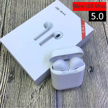 Mini True Wireless Earphone 5.0 Bluetooth Earbuds TWS i10 Max In Ear Blutooth Headset Air Pods Earphone For Phones PK i9s i7(China)