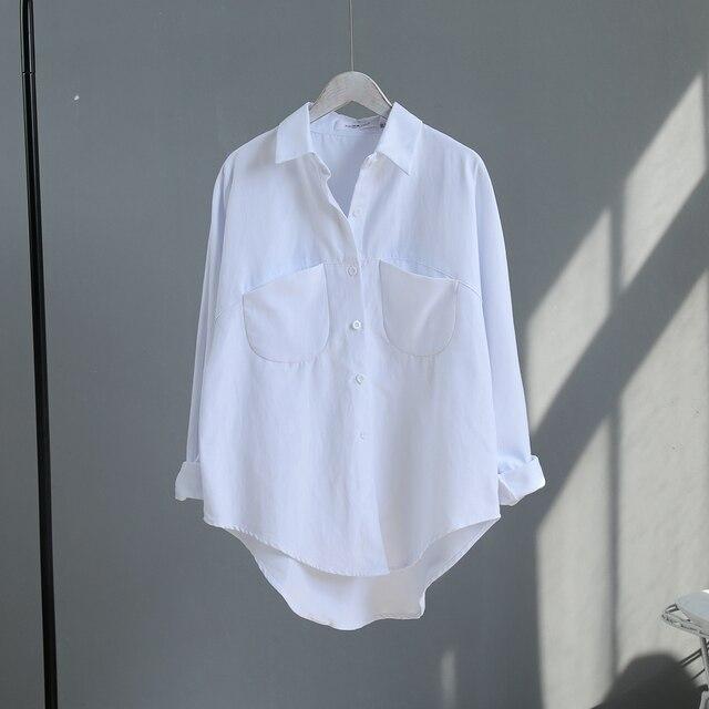 2020 Spring Women Summer Blouse Korean Long Sleeve Womens Tops And Blouses Vintage Women Shirts Blusas Roupa Feminina Tops