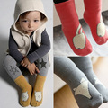 Lovely Fox Kids  Socks Breathable Deodorant Warth  Cotton Children Black White  Socks for Girls and Boys