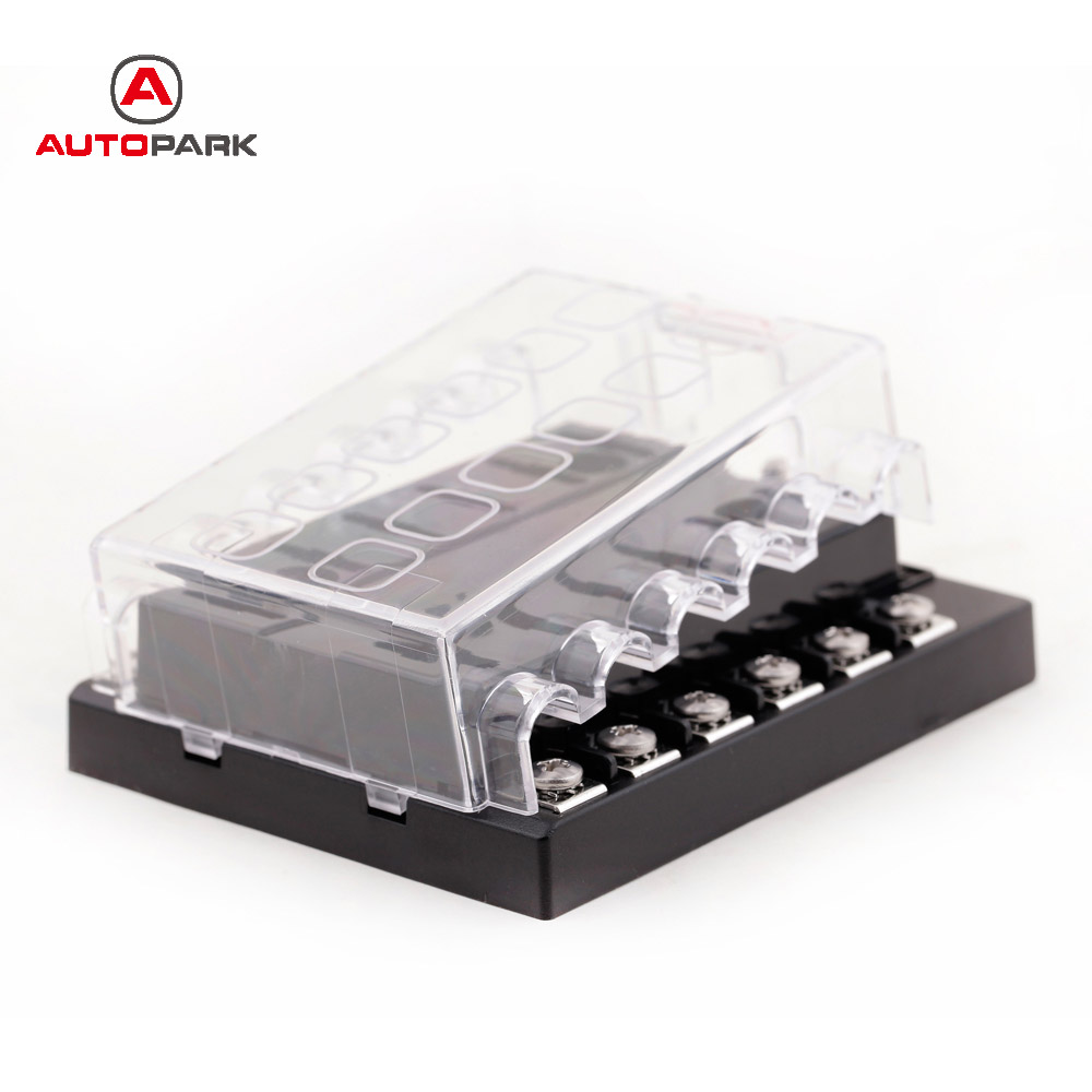 online shop universal 32v 12 way fuse box block fuse holder box car vehicle circuit automotive [ 1000 x 1000 Pixel ]