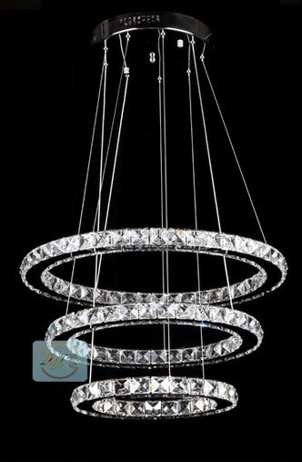 NEW FREE SHIPPING diameter(50,40,30)cm New Modern LED Round Crystal Lamp Diamond Ring Chandelier lighting Pendant lamp farjeon benjamin leopold a secret inheritance volume 2 of 3