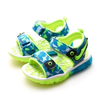 Livraison gratuite été enfants chaussures LED bleu / vert / rouge bottes kid clignotants filles et garçons sandales enfants chaussures filles chaussures