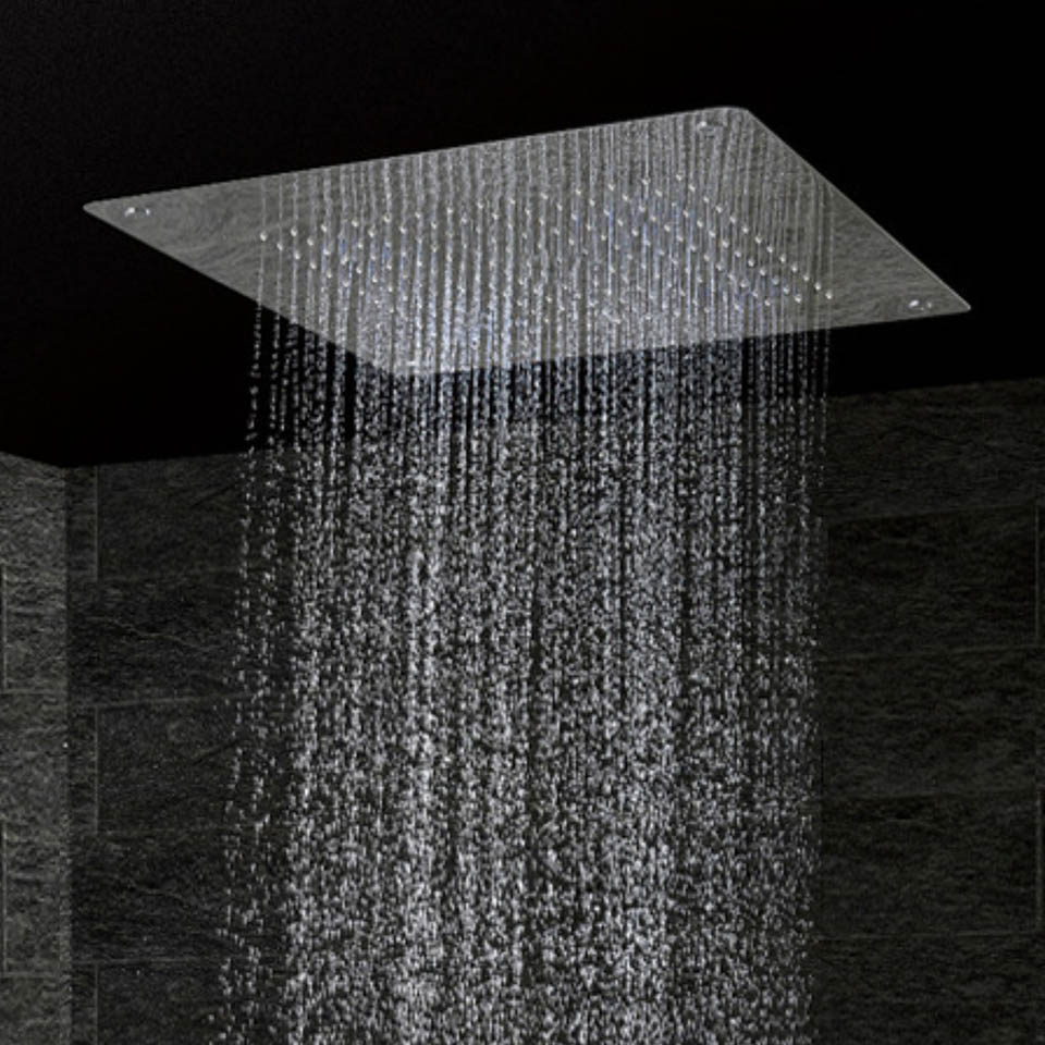 Luxury Ceiling Shower Head Modern Square Shower Overhead