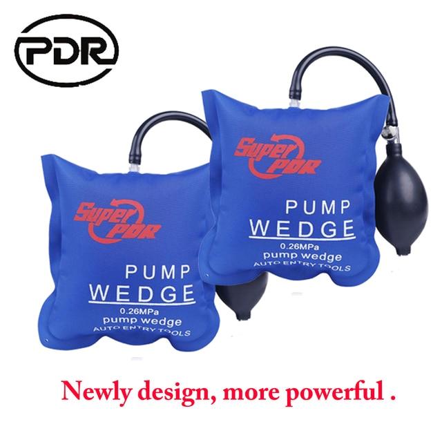 2 pièces serrurier fournitures PDR pompe cale serrurier outils Auto serrure Pick ensemble ouvert voiture porte serrure outils douverture airbag