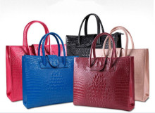 Alligator 100% genuine leather bag for women messenger bags famous brands real leather handbag luxury tote bag dollar price