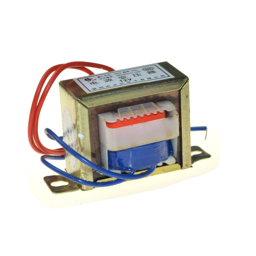 EI66*36 Single Output Voltage 50W EI Ferrite Core Input 220V 50Hz Vertical Mount Electric Power Transformer