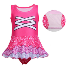 Summer Girl Dress bathing suit Christmas Halloween Party  cartoon clothing Cosplay Costume swimsuit 0399