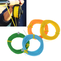 New 100 Feet Floating Fly Fishing Line WF4F Weight Forward Polyethylene Fly Fishing Cord 4 Colors