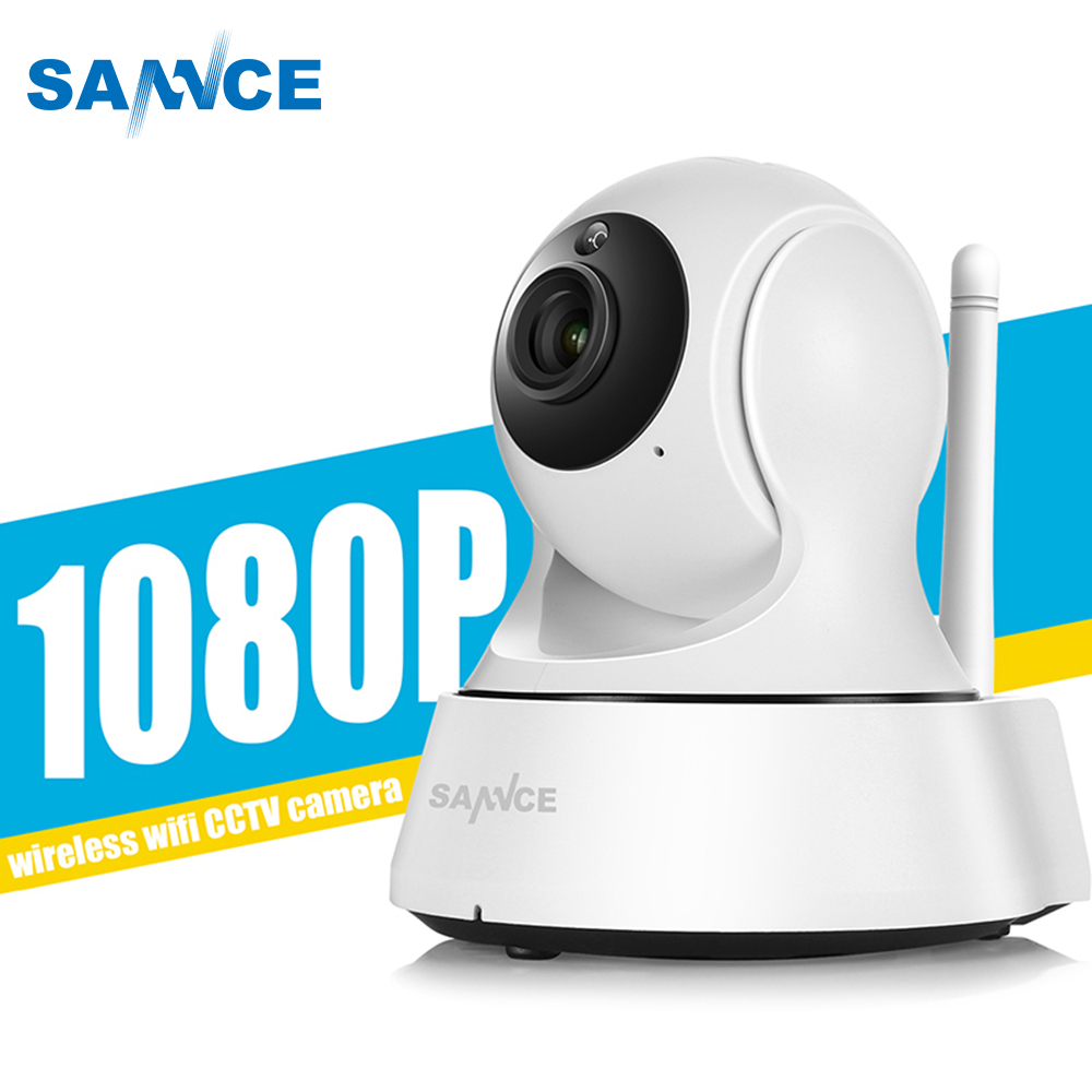 SANNCE WiFi IP Camera 720P 1080P CCTV Security Camera Night Vision Infrared Two Way Audio 1MP