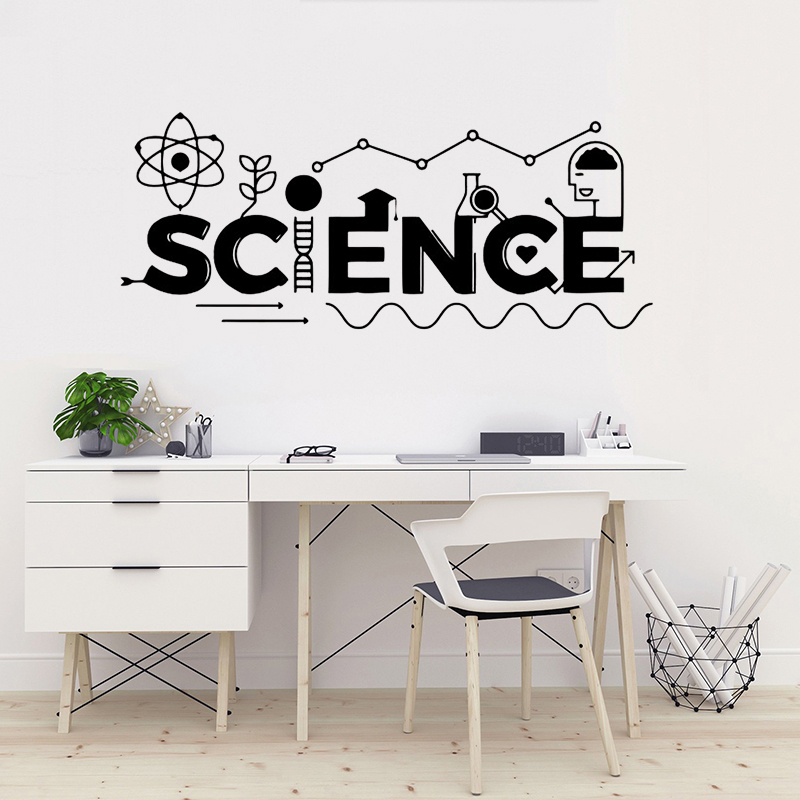Science Classroom Design Ideas: Science Wall Decal Vinyl Sticker For Kids Room Mural