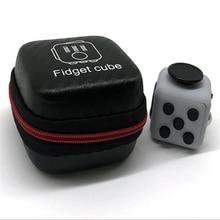 Fidget Cube Stress Reliever Cube Toy For Hand Addiction Fidget Cubes Stress Juguet Fidgetcube Desk Spin Toys With Storage Box