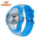 HOSKA Boys And Girls Students Watches Children's Electronic Table Fashion Quartz Watch Waterproof Luminous Small