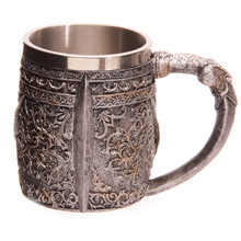 Skull Warrior Viking Skull Beer Mug