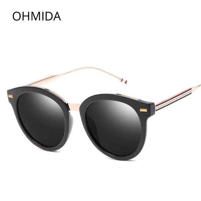 fecb1677f50 OHMIDA Fashionable Cheap Designer Sunglasses For Women Retro Best  Sunglasses Classic Vintage Eyewear Brands Sun Glasses