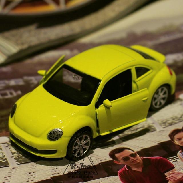 1 64 Alloy Car Model Volkswagen Beetle Back To The Sports Children Like