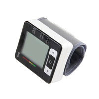 1pc Automatic Digital Wrist Blood Pressure Upper Monitor Heart Meter LCD Screen Hot Selling