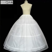 Wholesale And Retail Freeshipping High Quality Wedding Dress Petticoat Crinoline