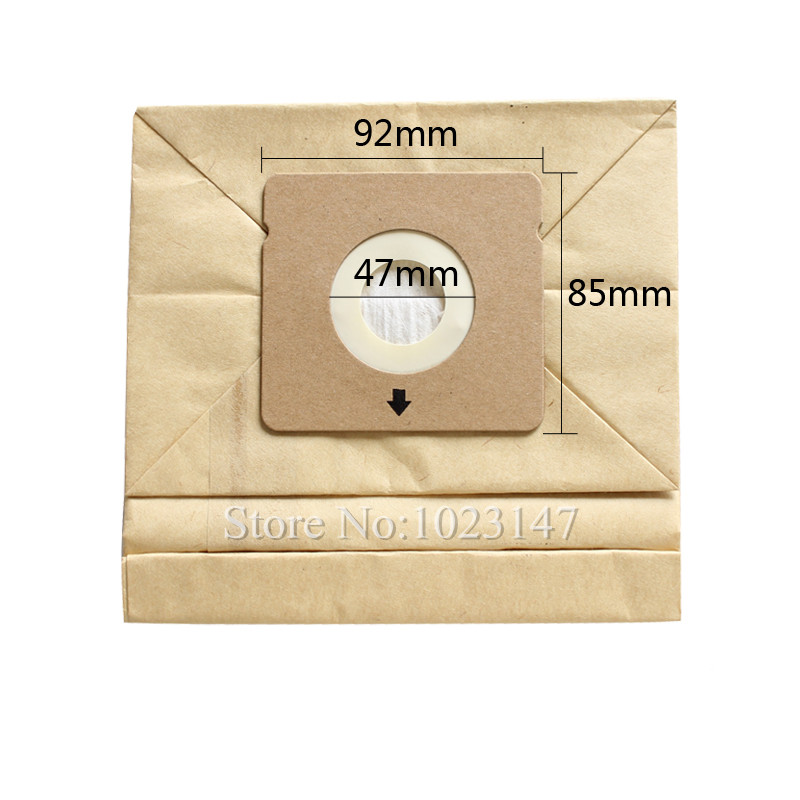 10 pieces/lot Vacuum Cleaner Dust Bags Paper Filter Bags for Rowenta RO5227 ZR0039 RO1717 RO1733 RO1751 etc. rowenta ro 5825