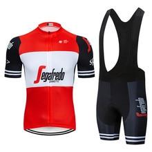 2019 UCI Cycling Clothing Bike jersey Quick Dry Mens Bicycle clothing summer Trekking team Cycling Jersey 9D gel bike shorts set цена в Москве и Питере
