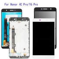 5.0 ''Con Cornice del Display Per Huawei Honor 4C Pro TIT-L01 Display LCD Touch Screen Digitizer Assembly Sostituzione + Frame + strumenti