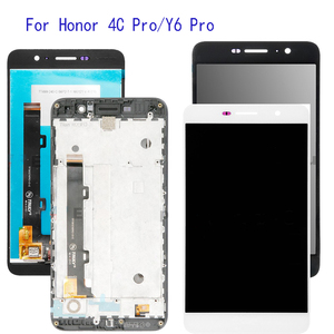Image 1 - 5.0 With Frame Display For Huawei Honor 4C Pro TIT L01 LCD Display Touch Screen Digitizer Assembly Replacement +Frame +Tools