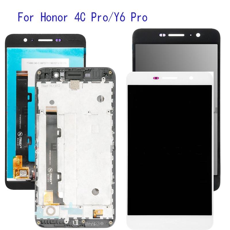 5.0 ''avec affichage de cadre pour Huawei Honor 4C Pro TIT-L01 écran LCD écran tactile numériseur assemblée remplacement + cadre + outils