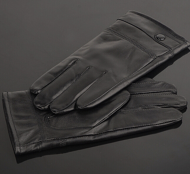 Stylish Leather Gloves for Men
