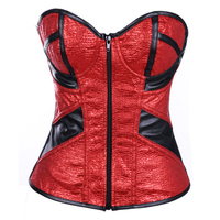 Gold corset espartilho espartilhos corset corselet corselet plus size corsetto corpet waist training latex waist training