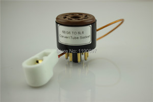 Image 4 - 1 חתיכה צינור 8Pin ל8pin אודיו DIY 6BG6 ל6L6 ממיר שקע מתאם צינור ואקום משלוח חינם