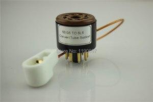 Image 4 - Adaptador de tubo de vacío de Audio, 1 unidad, 6BG6 a 6L6, 8 pines a 8 pines, bricolaje, convertidor de enchufe, envío gratis