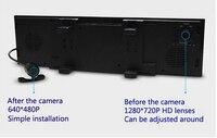 dual dash cam 4.3 dash cam dual dvr auto rearview mirror DVR drive recorder +bluetooth phone handsfree+car dvr with two cameras