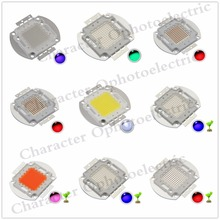 5PCS High Power LED Chip 100W Natural Cool Warm White Red Blue Green UV RGB IR Full Spectrum 660nm 445nm  for Floodlight