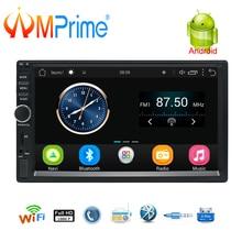 AMPrime 2 Din Android Car Radio GPS Navigation 7″ 2din Universal Car Stereo Audio Bluetooth Wifi USB No DVD Autoradio MP5