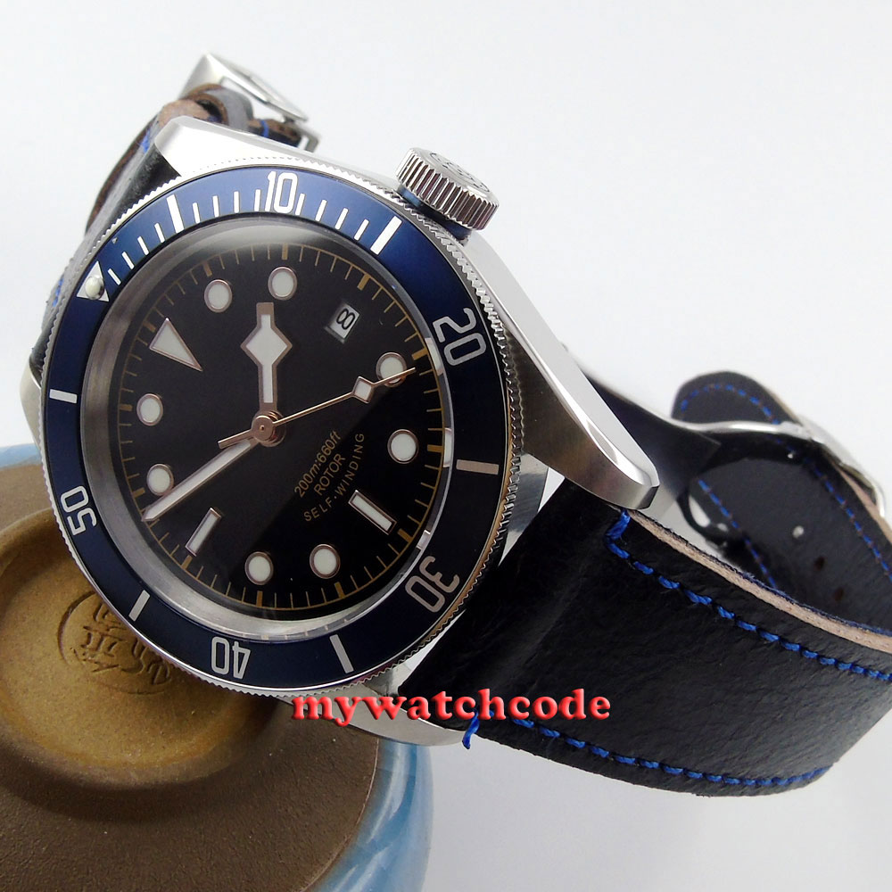 41mm corgeut black dial Sapphire Glass 21 jewels miyota Automatic mens Watch C1441mm corgeut black dial Sapphire Glass 21 jewels miyota Automatic mens Watch C14