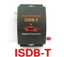 Cyfrowy tuner TV ISDB-T 140-190 km h isudar ISDB T telewizor z dostępem do kanałów samochód dla brazylia ameryka południowa chile argentyna Peru japonia tanie tanio Black VHF-H 174~230Mhz UHF 470~862Mhz 130*120*27mm 12 v XEOWYN 3 way video output for reversing video input or other audio or video input