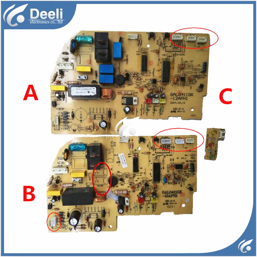 used board for air conditioning Computer board circuit board GAL0411GK-12APH1 air conditioning board computer board a741535 used disassemble