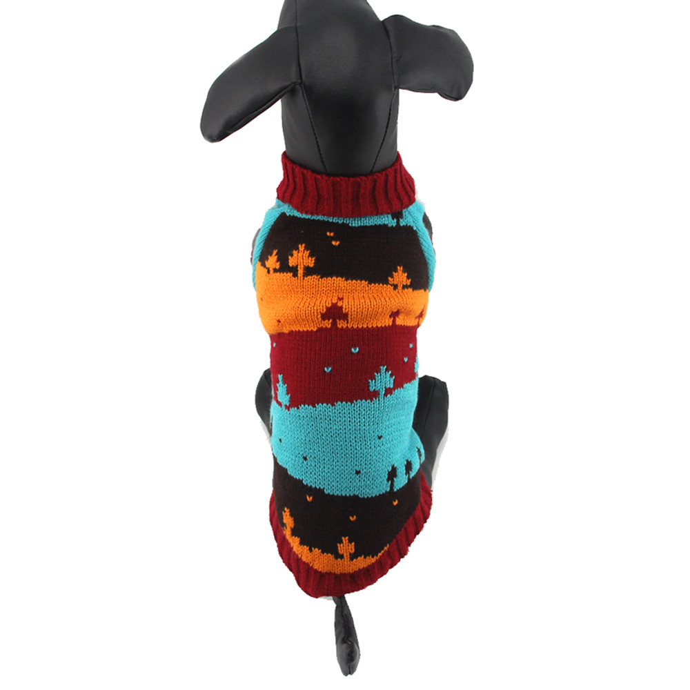 Small Dogs Costume Clothes For Little Dogs Overalls Cool And Cute Christmas Tree Sweater Clothing Pet Cat Dog Costume