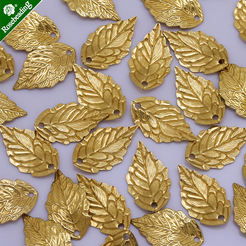 10x17mm Brass Gold plated leaf charm,leaf pendant,Hair accessories leaf,leaf Spacer,handcrafted jewelry,sold 50pcs/lot монитор 19 hp v196 черный tft tn 1366x768 200 cd m^2 5 ms dvi vga